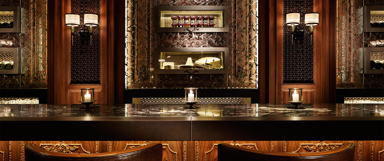 "Four Seasons Hotel Hong Kong""Caprice Bar"""